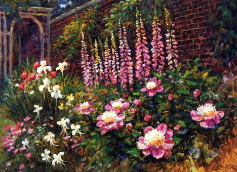 Larry Veeder English Garden