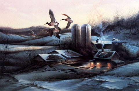Terry Redlin Evening Company