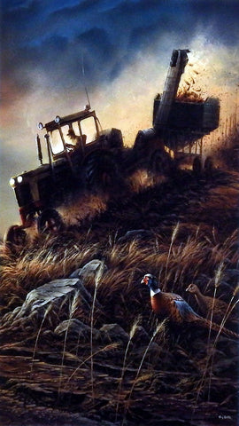 Terry Redlin Evening Harvest