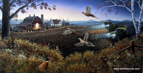 Mark Daehlin Evening Harvest