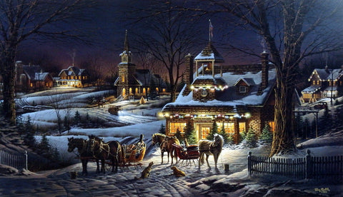Terry Redlin Evening Rehearsal