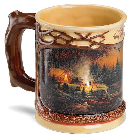 Sculptured Mug- Terry Redlin Evening Solitude