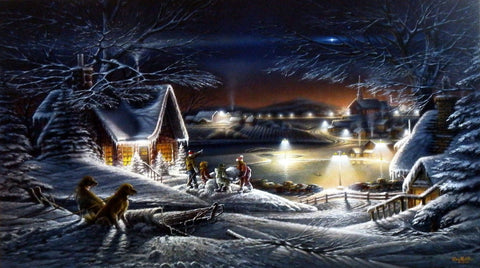 Terry Redlin Evening Star