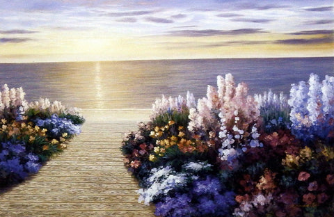 Diane Romanello EVENING SUN Seascape Art Print