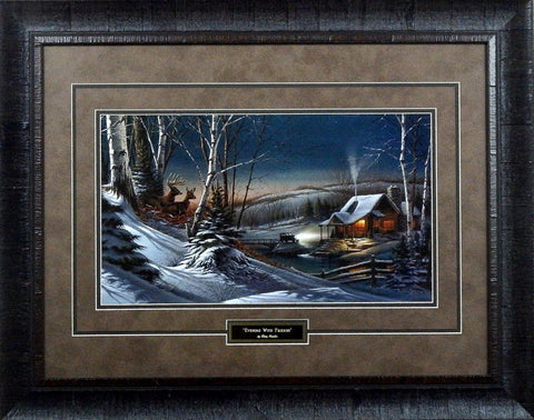Terry Redlin Evening with Friends-Framed Art Print