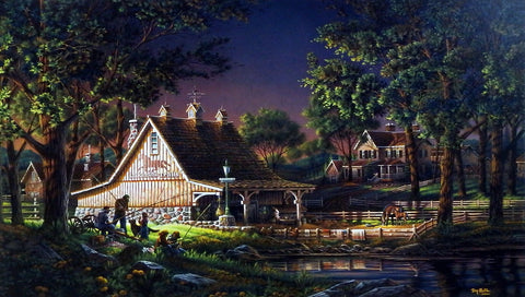 Terry Redlin Family Time