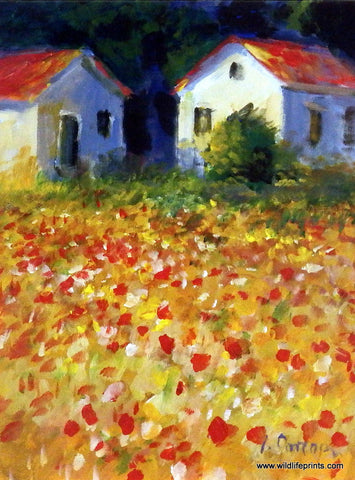Lew Gordon Field of Poppies