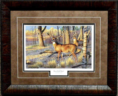 Cynthie Fisher Beanfield Buck-Framed