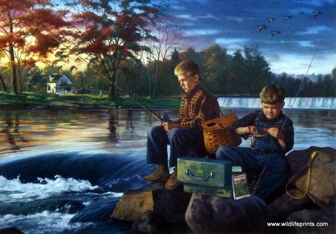 Charles Freitag Kids Fishing Picture