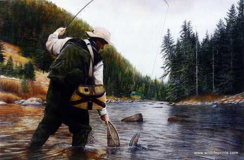 Kevin Daniel Fishing the Gallatin