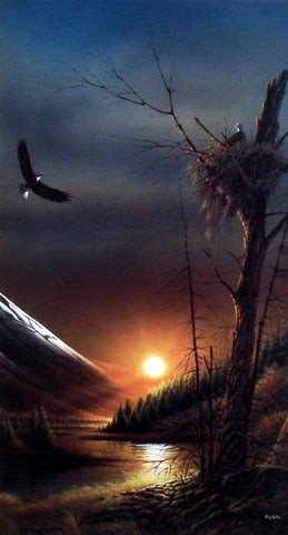 Terry Redlin Flying Free Pinnacle