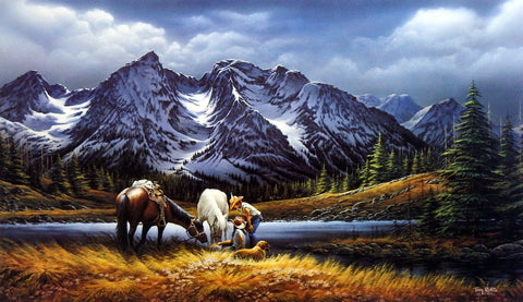Terry Redlin For Purple Mountain Majesties