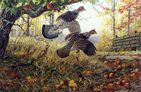 Persis Clayton Weirs Fruits Of Your Labor- Ruffed Grouse