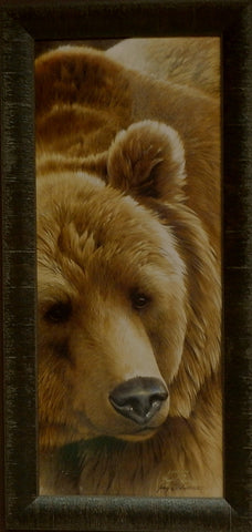 Jerry Gadamus Grizzly Bear-Framed