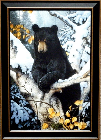 Jerry Gadamus Lazy Boy Bear Print-Framed
