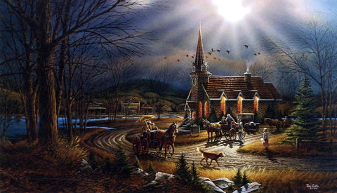 Terry Redlin God Shed His Grace On Thee