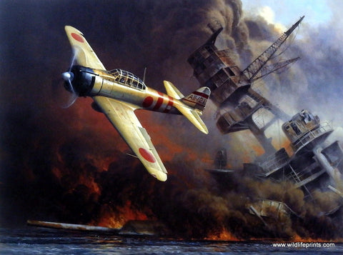 Don Kloetzke World War II Pearl Harbor Art Print