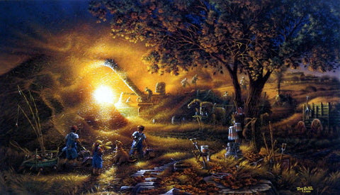 Terry Redlin Harvest Memories