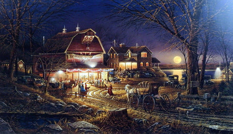 Terry Redlin Harvest Moon Ball