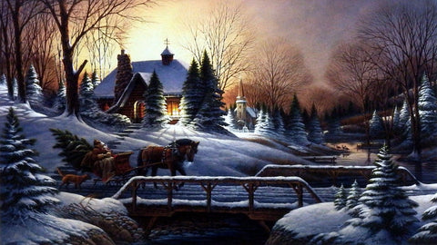 Terry Redlin Heading Home