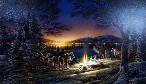 Terry Redlin Heartland Lights