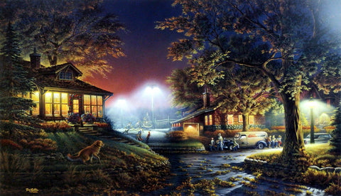 Terry Redlin Highlight Of The Neighborhood
