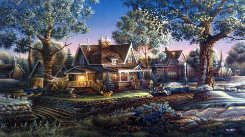Terry Redlin High School Graduation Print HIS FIRST GRADUATION