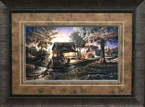 Terry Redlin His First Day Art Print Framed