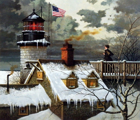Charles Wysocki Picture Waiting for return of sailor