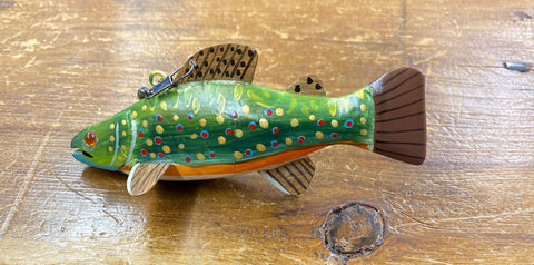 Grand Daddy Brook Trout Decoy 4.25 x 1.5