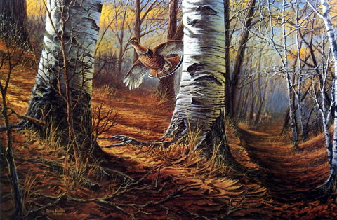 Terry Redlin Intruders
