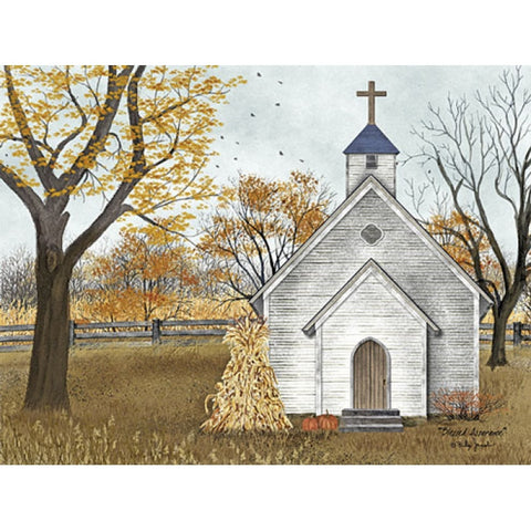 Billy Jacobs Blessed Assurance Church Harvest Art Print