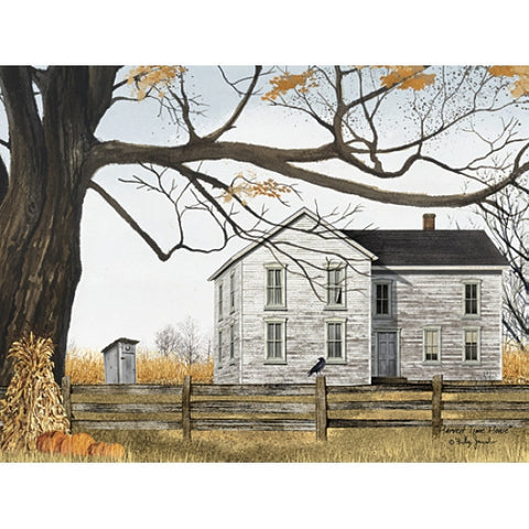 Billy Jacobs Harvest Time House Pumpkin Farm Art Print