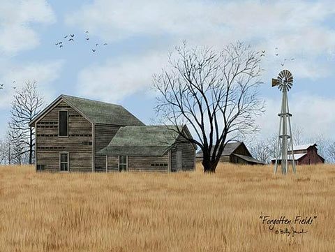 Billy Jacobs Forgotten Fields Country Farm Art Print