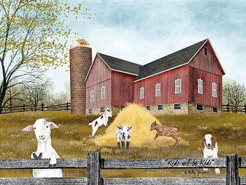 Billy Jacobs Kids will be Kids farm Country Art Print