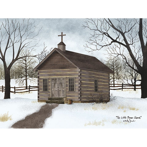 Billy Jacobs Little Brown Church Print