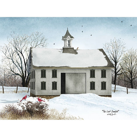 Billy Jacobs The Last Snowfall Art Print