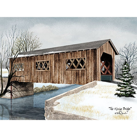 Billy Jacobs The Kissing Bridge Art Print