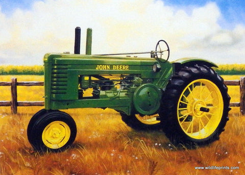 Charles Freitag John Deere Tractor 1995 Picture