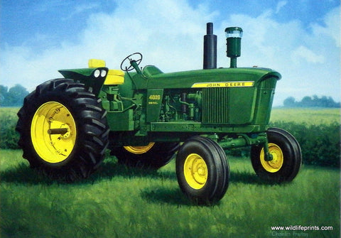 Charles Freitag John Deere Tractor 4020 Picture