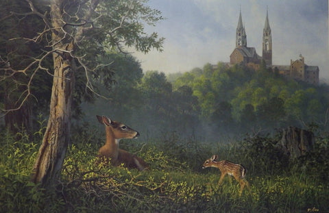 Don Kloetzke A New Beginning S/N Deer Print