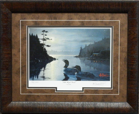 Kouba Full Moon Guest S/N Framed Print