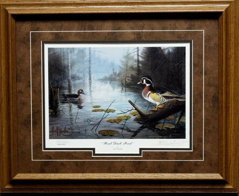 Kouba Wood Duck Pond-Framed