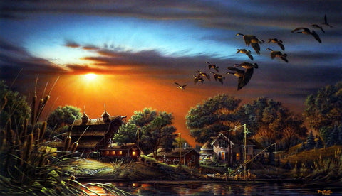 Terry Redlin Lazy Afternoon