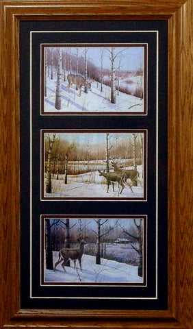 Les Kouba The Empty Stand Trilogy-Framed