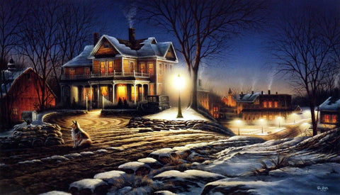 Terry Redlin Lights Of Home