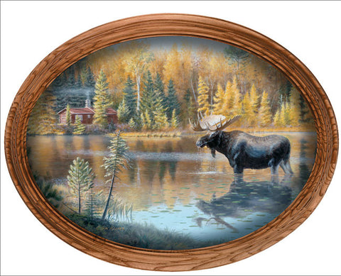 Jim Kasper The Loner-Moose Framed