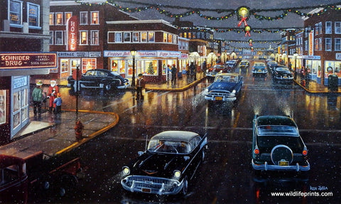 Ken Zylla Main Street In Season