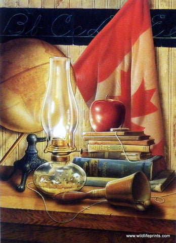 Doug Knutson Canadian School teacher print