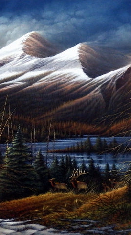 Terry Redlin Master Of The Valley Pinnacle